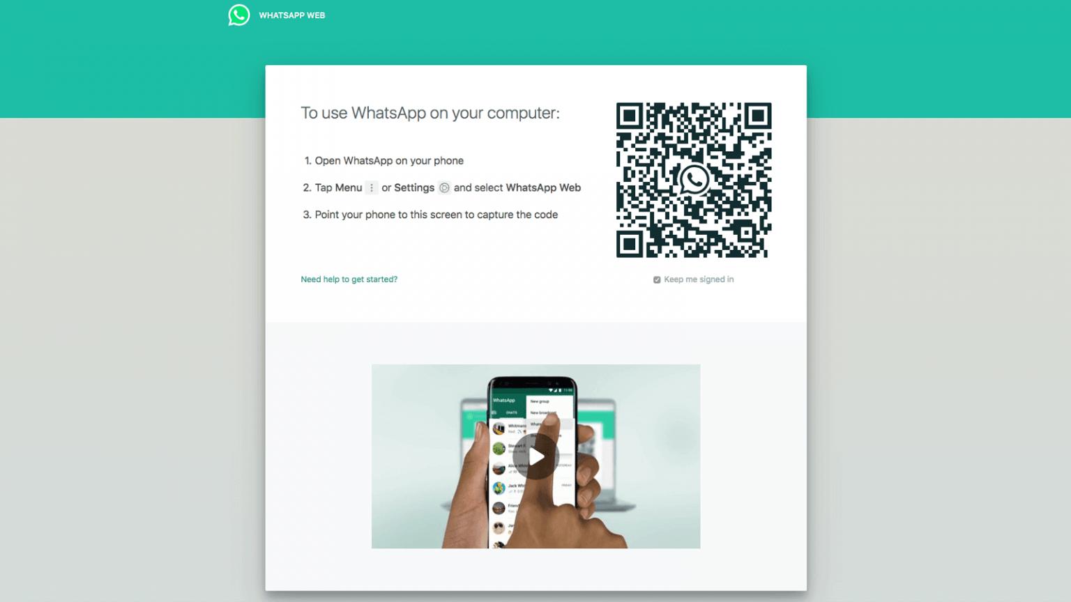 Cara Pakai Whatsapp Web Untuk Memaksimalkan WFH - Anon Gallery