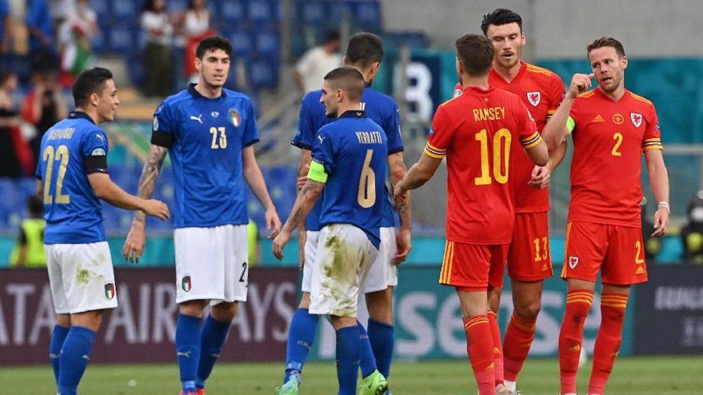 Jalannya-Pertandingan-Italia-Vs-Wales
