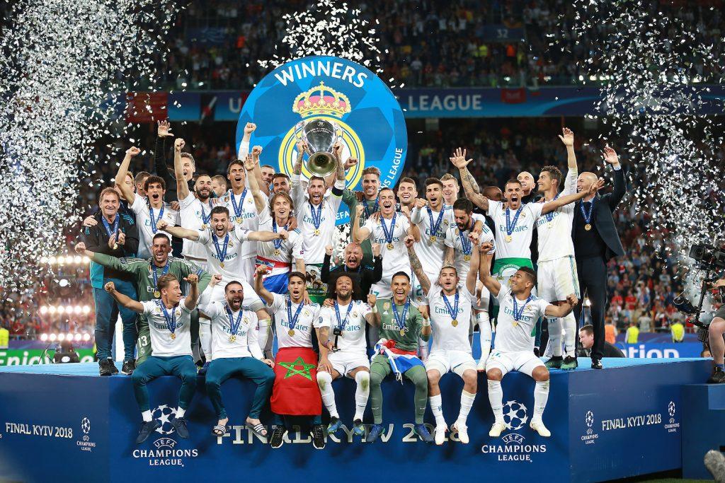 Real Madrid Gondol Gelar 13 Kali