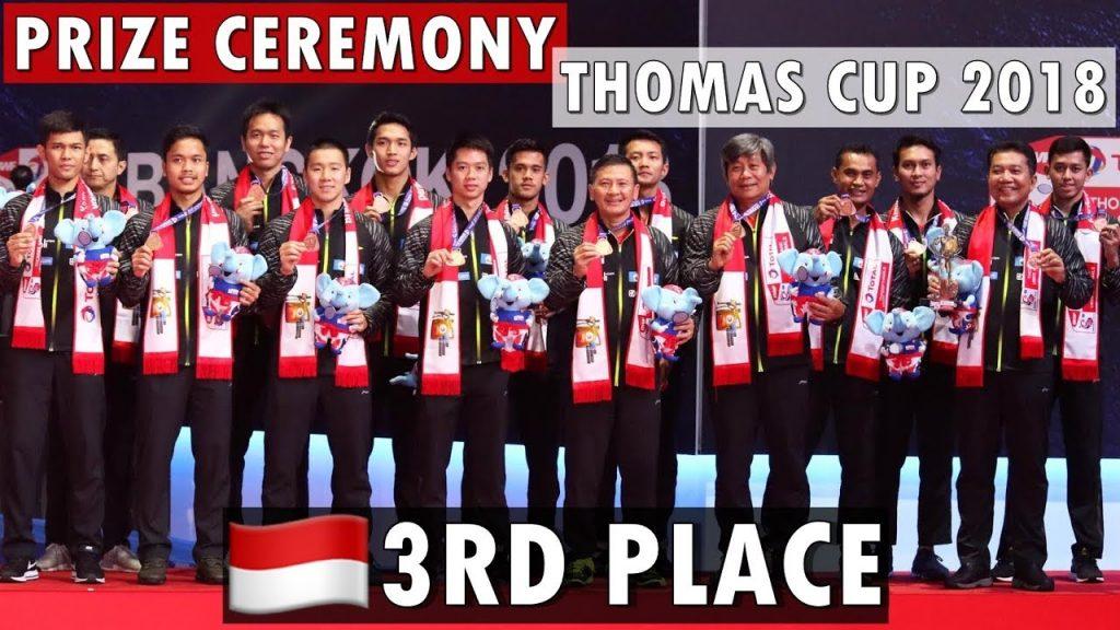 Sejarah Thomas Cup Indonesia
