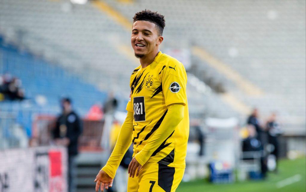 Jadon Sancho  Transfer Pemain Bola