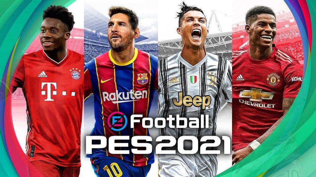 eFootball PES 2021 Game Sepakbola